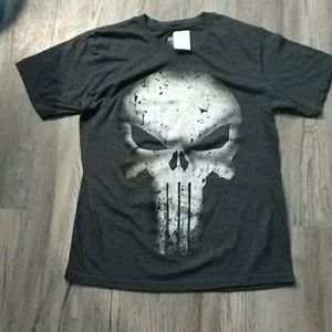 Marvel punisher Tee Sz Small